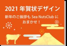 Sea Nuts Club 発表会 プログラム制作 年賀状